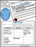 McGraw-Hill Wonders Reading Series Exit Tickets - 2nd Grad