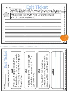 McGraw-Hill Wonders Reading Series Exit Tickets - 2nd Grade Unit 6
