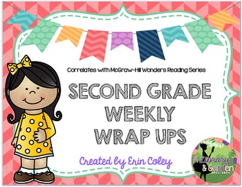 McGraw-Hill Wonders Reading Series Second Grade Weekly Wrap Ups