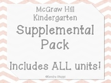 McGraw Hill Wonders Reading Series Supplemental Pack - ALL UNITS