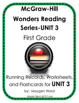 McGraw-Hill Wonders Reading Series, UNIT 3, Running Record