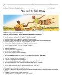 "McGraw-Hill Wonders Reading-Unit 1-Wk1 ""One hen"" Standardized Assessment"