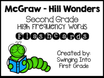 McGraw-Hill Wonders Second Grade High Frequency Word Flashcards