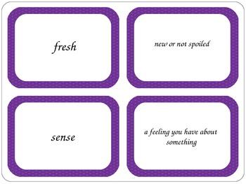 McGraw Hill Wonders Second Grade Unit 2 Vocabulary