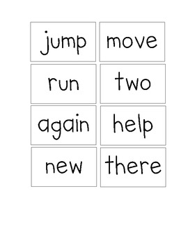 McGraw Hill Wonders Sight Word Cards