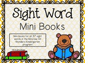 McGraw Hill - Wonders Sight Word Mini Books