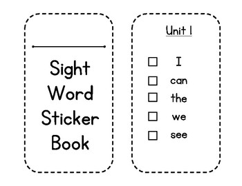 McGraw-Hill Wonders Sight Word Sticker Book