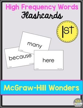 Wonders Sight Word Flashcards