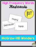 Wonders Sight Word Flashcards