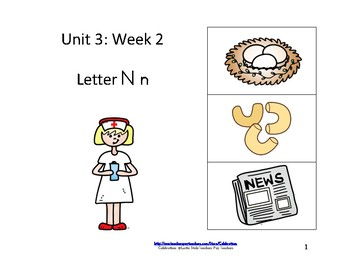Reading Groups: Unit 3, Week 2:  Letter N