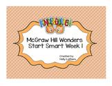 McGraw Hill Wonders Start Smart Kindergarten Week 1