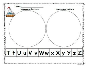 Kindergarten Wonders:Start Smart Letter Sort Capital/Lower