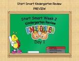 McGraw Hill Wonders Start Smart Week 2 Kindergarten Review First Grade