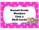McGraw-Hill Wonders Storyboard Focus Wall Skills Cards Unit 4 Second Grade