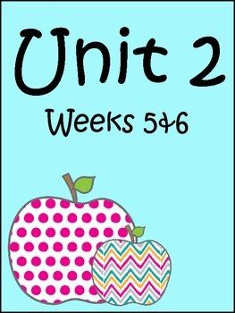 Supplemental Materials Unit 2:  Weeks 5 & 6 (Fourth Grade)