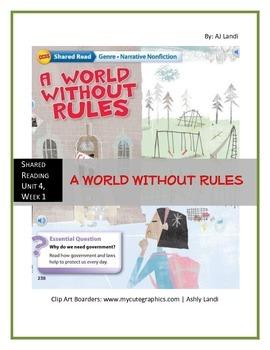 McGraw Hill Wonders UNIT 4, WEEK 1 Shared Reading A World
