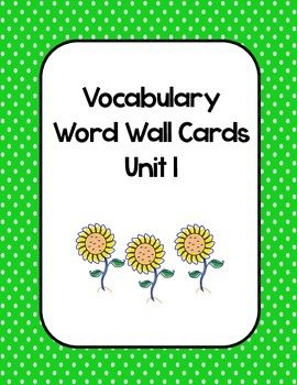 McGraw Hill Wonders Ultimate Vocabulary Bundle (3rd Grade)