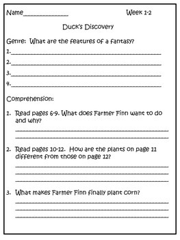 Third Grade Unit 1 Leveled Readers