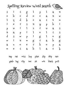 McGraw-Hill: Wonders Unit 1 Spelling Homework