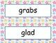 McGraw Hill Wonders Unit 1 Spelling - stars background