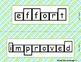McGraw Hill Wonders Unit 1 Vocabulary Word Shape Cards Pla