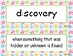McGraw Hill Wonders Unit 1 Vocabulary Words and Definitions Cards - stars