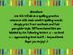 McGraw Hill Wonders Unit 1 Week 1-5 Spelling Trifold 4th Grade
