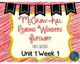 Wonders Unit 1 Week 1 Flipcharts