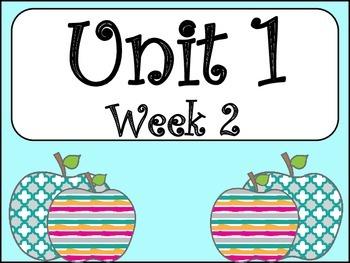 Unit 1: Week 2 (4th Grade)