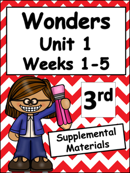 McGraw-Hill Wonders Unit 1 Weeks 1-5 (Third Grade)