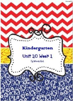 Kindergarten Wonders: Unit 10 Week 1- Lesson Plans/Activities