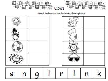 Kindergarten: Unit 10 Week 1- Lesson Plans/Activities