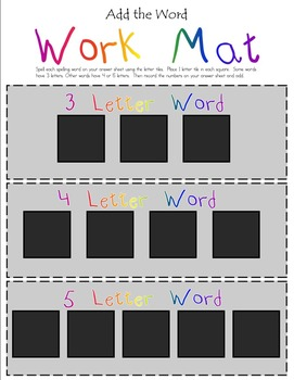 McGraw-Hill Wonders Unit 2 2nd Grade- Add The Word Spellin