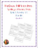 McGraw Hill Wonders: Unit 1 BUNDLE of Spelling & Phonics T