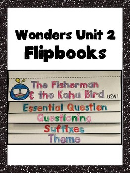 McGraw Hill Wonders Unit 2 Flipbooks (Grade 4)