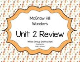 McGraw Hill Wonders Unit 2 Review First Grade