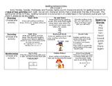 McGraw Hill Wonders Spelling Homework Bundle Unit 2