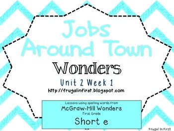 Wonders: Unit 2 Week 1 (short e)