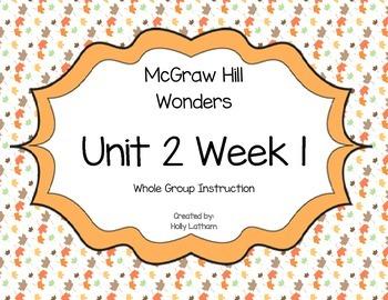 McGraw Hill Wonders Unit 2 Week 1 First Grade