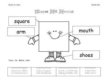 Kindergarten Wonders: Unit 2 Week 2- PowerPoint/Activities
