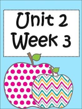 Unit 2: Week 3 (third grade)