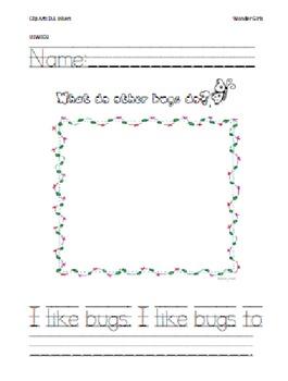 Kindergarten Wonders: Unit 2 Week 3- PowerPoint/Activities