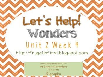 Wonders Unit 2 Week 4 (Consonant Digraphs)