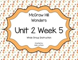 McGraw Hill Wonders Unit 2 Week 5 First Grade