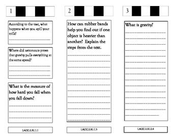 McGraw Hill Wonders Unit 3 Comprehension Trifolds, Grade 2