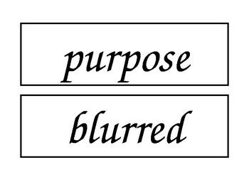 McGraw Hill Wonders Unit 3 Enlarged Spelling Words