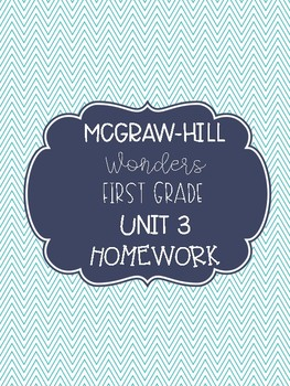 McGraw-Hill Wonders Unit 3 Homework