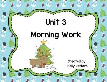 McGraw Hill Wonders Unit 3 Morning Work