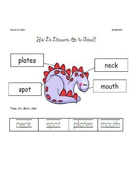 Kindergarten Wonders: Unit 3 Week 1- PowerPoint/Activities