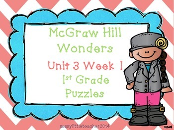 McGraw Hill Wonders Unit 3 Week 1 Puzzles